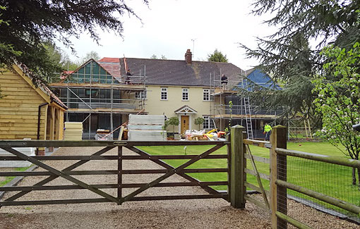 Residential Project: Country House Refurbishment & Extension (3 of 6)