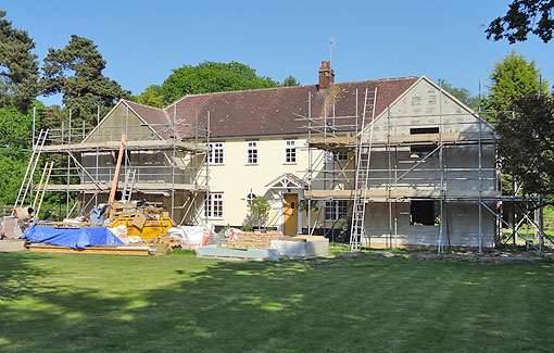 Residential Project: Country House Refurbishment & Extension (5 of 6)